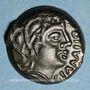 Münzen Sénones. Région de Sens. Giamilos Siinu. Bronze, vers 80-50 av. J-C