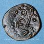 Münzen Séquanes, monnayage indéterminé, petit bronze. Inédit !