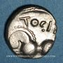 Münzen Séquanes. Région de Besançon - Togirix. Denier, vers 80-50 av. J-C