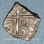 Münzen Sotiates. Région de Sos. SETVBO. Drachme au triskèle. 1er s. av. J-C