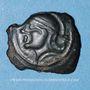 Münzen Suessiones. Région de Soissons - Criciru. Bronze classe III var 1, 1er siècle av. J-C