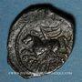 Münzen Suessiones. Région de Soissons - Criciru. Bronze classe III var 3, 1er siècle av. J-C