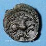 Münzen Suessiones. Région de Soissons. - Deiviciac. Bronze classe I var 1, vers 60-25 av. J-C