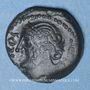 Münzen Véliocasses (région de Rouen) - Suticcos (vers 60-30/25 av. J-C). Bronze au lion
