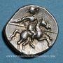 Münzen Voconces. Vallée du Rhône - Durnacos-Auscrocos. Denier, vers 75 av. J-C