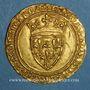 Münzen Charles VI le Bien-Aimé (1380-1422). Ecu d'or à la couronne. 4e émission. Point 17e. Saint-Quentin