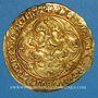Münzen Charles VII (1422-1461). Ecu d'or à la couronne. 1er type (21 janvier 1423). Point 16e, Tournai