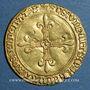 Münzen Charles VIII (1483-1498). Ecu d'or au soleil. 1ère émission (11 septembre 1483). Bourges (lettre B)