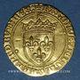 Münzen Charles VIII (1483-1498). Ecu d'or au soleil. 1ère émission (11 septembre 1483). Paris (point 18e)