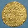 Münzen François I (1515-1547). Ecu d'or au soleil, 12e type. L Bayonne