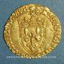 Münzen François I (1515-1547). Ecu d'or au soleil, 5e type. Bordeaux (nef)