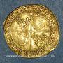 Münzen François I (1515-1547). Ecu d'or au soleil du Dauphiné. 1er type. Crémieu (point 1er)
