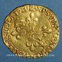 Münzen François I (1515-1547). Ecu d'or au soleil du Dauphiné, 7e type (après 1528). R couronné, Romans