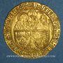 Münzen Henri VI (1422-1453). Salut d'or, 2e émission. Rouen