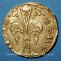 Münzen Jean II le Bon (1350-1364). Monnayage particulier pour le Languedoc. Florin d'or