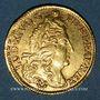 Münzen Louis XIV (1643-1715). Demi-louis à l'écu 1692P. Dijon. Réformation