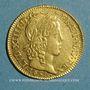 Münzen Louis XIV (1643-1715). Louis d'or à la mèche longue 1651A