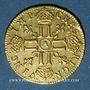 Münzen Louis XIV (1643-1715). Louis d'or à la mèche longue 1652A
