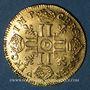 Münzen Louis XIV (1643-1715). Louis d'or à la mèche longue 1652D. Lyon