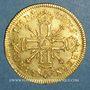 Münzen Louis XIV (1643-1715). Louis d'or aux 8 L et aux insignes 1701 A. Réformation