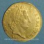 Münzen Louis XIV (1643-1715). Louis d'or aux insignes 1704A. Réformation