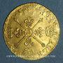Münzen Louis XIV (1643-1715). Louis d'or aux insignes A (date illisible). Réformation
