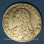 Münzen Louis XV (1715-1774). Demi-louis aux lunettes 1727. Reims