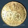 Münzen Louis XV (1715-1774). Double louis au bandeau 1749B. Rouen