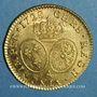 Münzen Louis XV (1715-1774). Louis d'or aux lunettes 1728 A. 2e semestre