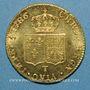 Münzen Louis XVI (1774-1793). Double louis d'or à la tête nue 1786T. Nantes, 2e semestre