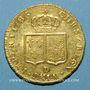 Münzen Louis XVI (1774-1793). Double louis d'or au buste nu 1786D. Lyon