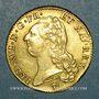 Münzen Louis XVI (1774-1793). Double louis d'or au buste nu 1786I. Limoges. 1er semestre