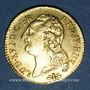 Münzen Louis XVI (1774-1793). Louis d'or au buste nu 1785D. Lyon