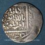 Münzen Imitation croisée d'un dirham au nom de al-Salih Isma'il (635 et 637-643H). (641)H