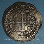 Münzen Orient Latin. Emirat d'Aydin. Omar Beg (1341-1348). Gigliato. Theologos (Ephèse)