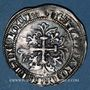Münzen Orient Latin. Emirat de Théologos. Omar Beg (1341-1348). Gigliato, Ephèse