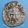 Münzen Orient Latin. Princes d'Achaïe. Philippe de Tarente (1306-1313). Denier tournois