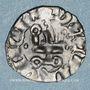 Münzen Orient Latin. Principauté d'Achaïe. Jean de Gravina (1318-1333). Denier tournois