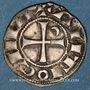 Münzen Orient Latin. Principauté d'Antioche. Bohémond III, pendant sa majorité (1163-1201). Denier Antioche