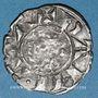 Münzen Orient Latin. Royaume de Jérusalem. Jean de Brienne (1210-1225). Denier. Damiette 1219-1221