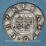 Münzen Duché de Lorraine. Antoine (1508-1544). 2 deniers. Nancy