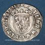 Münzen Duché de Lorraine. Antoine (1508-1544). Demi-gros. Nancy. Variante inédite !