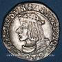 Münzen Duché de Lorraine. Antoine (1508-1544). Teston 1537. Nancy