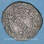 Münzen Duché de Lorraine. Charles et Nicole (1624-25). Demi-gros n. d. Nancy