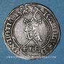Münzen Duché de Lorraine. Charles II (1390-1431). Gros à l'écu heaumé. Sierck, 1390-1420
