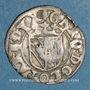 Münzen Duché de Lorraine. Charles III (1545-1608). Sol ou carolus contremarqué (1597). Nancy