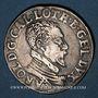 Münzen Duché de Lorraine. Charles III (1545-1608). Teston au buste âgé, Nancy (1582-1608)