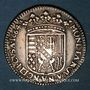 Münzen Duché de Lorraine. Charles IV, 2e règne (1661-1670). Demi-teston 1664. Nancy