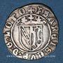 Münzen Duché de Lorraine. François I (1544-1545). Demi-gros. Nancy.