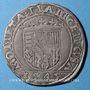 Münzen Duché de Lorraine. François I (1544-1545). Teston 1545. Nancy. R !